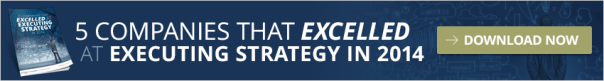 Companies that excelled at executing strategy in 2015