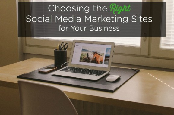 right social media marketing sites