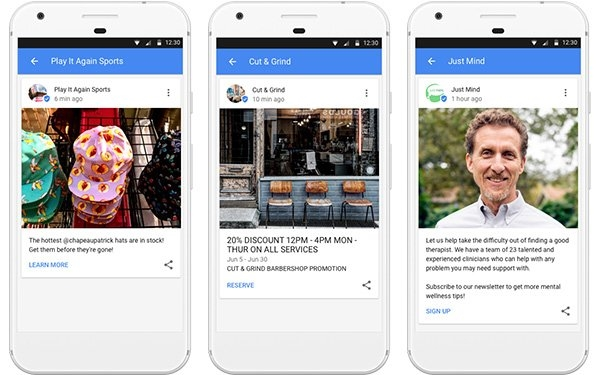 Google Rolls Out Posts For Small Businesses Worldwide