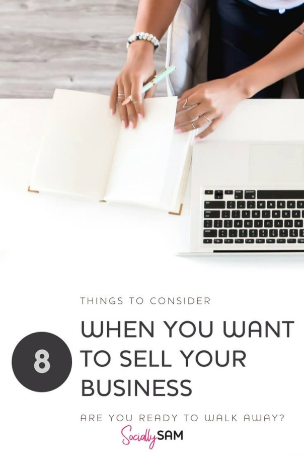 Things To Consider When You Want To Sell Your Business