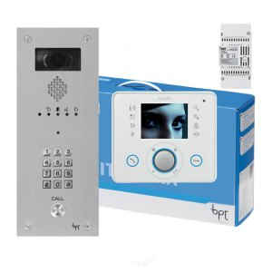 BPT OPALE 26 way Kit with VR Video entry Panel with keypad