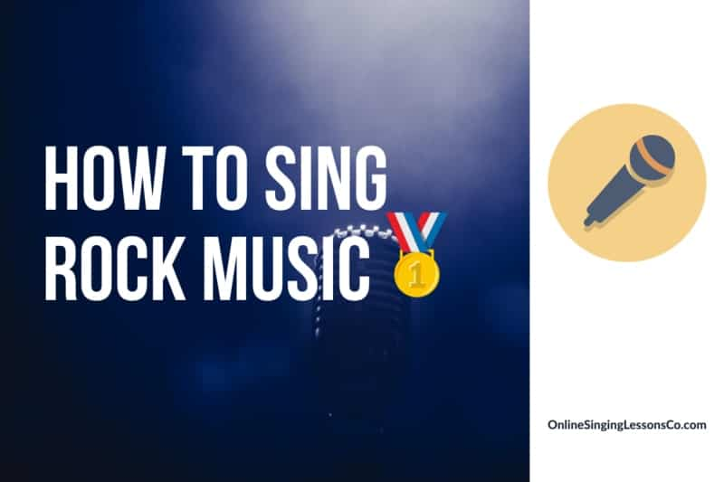 How to Sing Rock Music🥇 (2021)