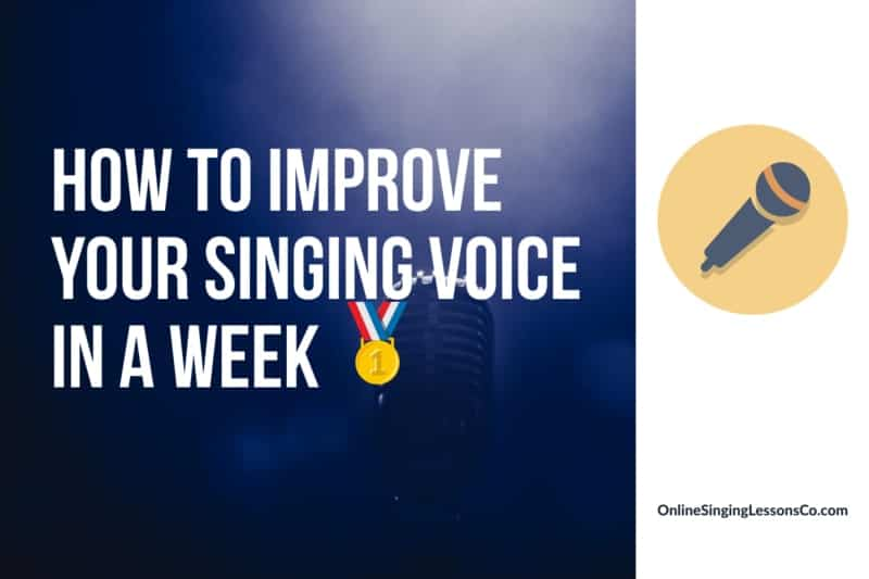 How to Improve Your Singing Voice in a Week 🥇 (2021)