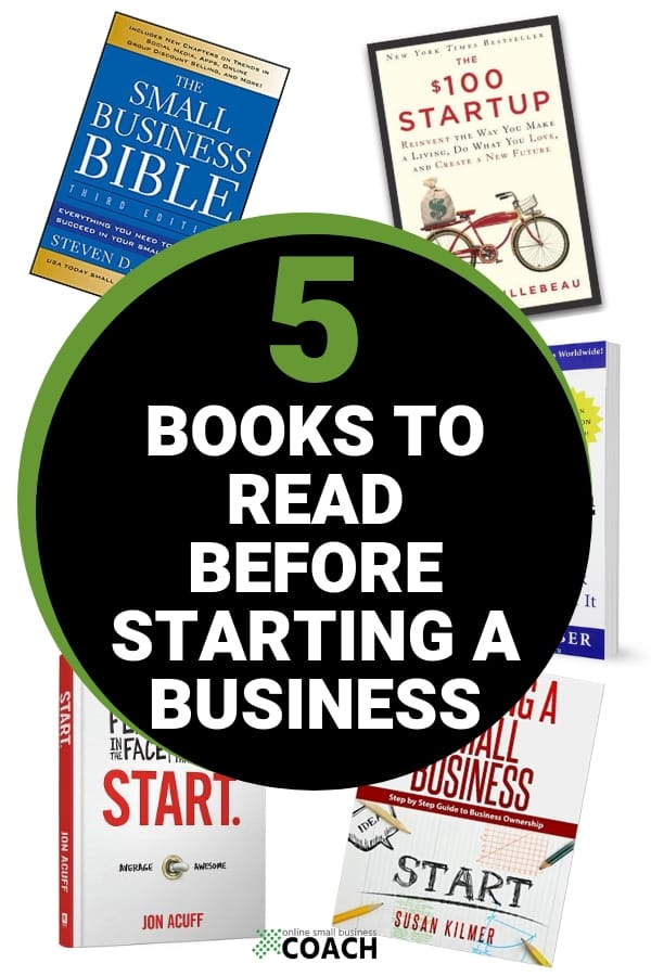 5 books to read before starting a business