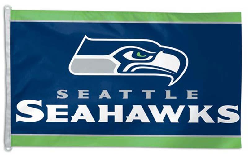 Seattle Seahawks 3' x 5' Flag