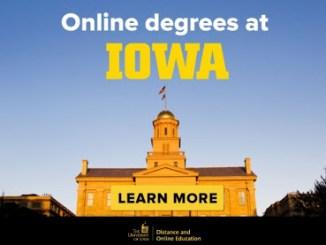 online programs university of iowa usa