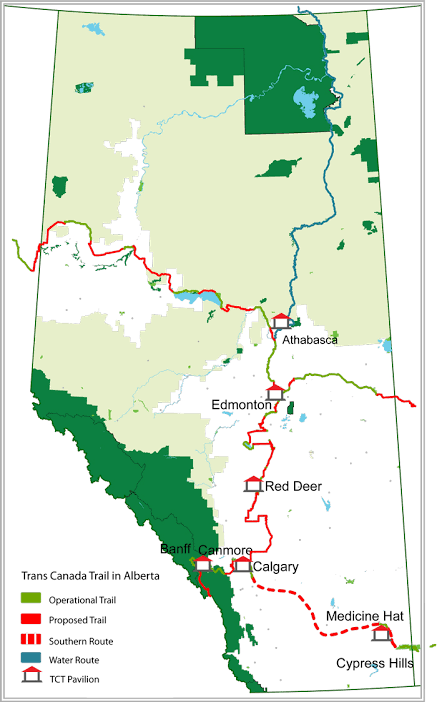 Athabasca Map
