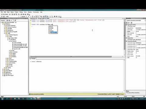SQL Server: 07 - INSERT and SELECT Statement