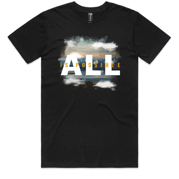 All is Possible Men Black T Shirts