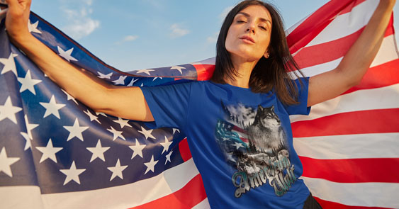 Online T Shirts American Style Tee's