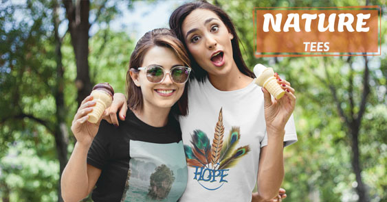 Online T Shirts Nature Tee's