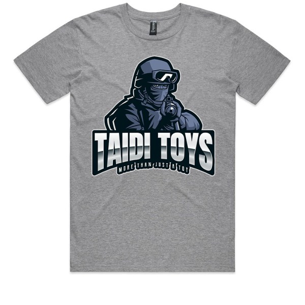 TAIDI More Than Just a Toy SOLDIER Kids Grey Marle T Shirts