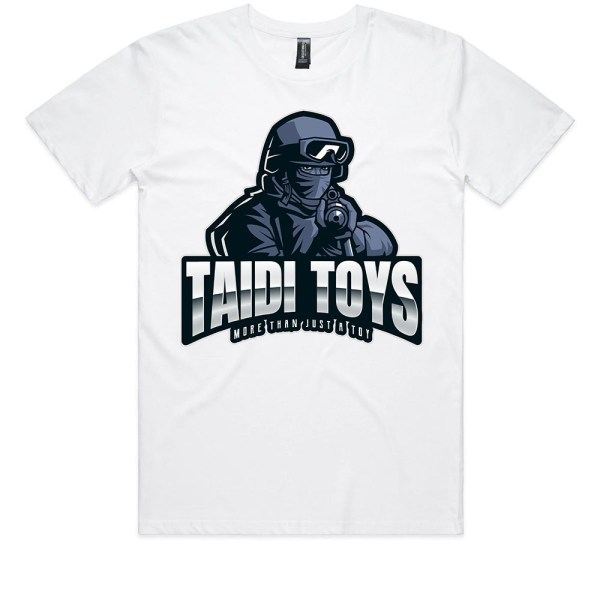 TAIDI More Than Just a Toy SOLDIER Kids White T Shirts