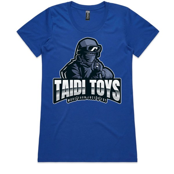 TAIDI More Than Just a Toy SOLDIER Ladies Royal T Shirts