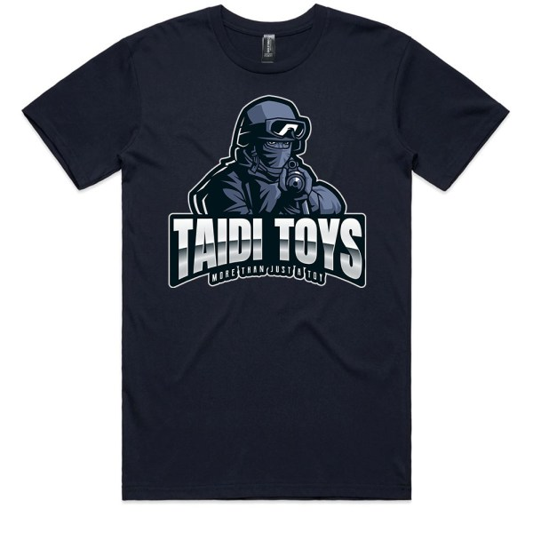 TAIDI More Than Just a Toy SOLDIER Men Navy T Shirts