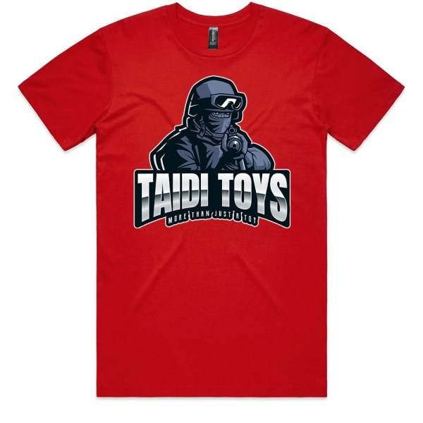 TAIDI More Than Just a Toy SOLDIER Men Red T Shirts