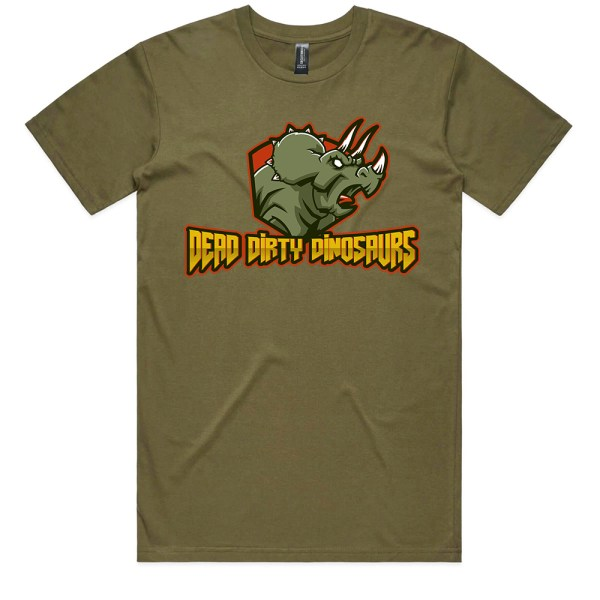Dead Dirty Dinosaurs 002 Men Army T Shirts