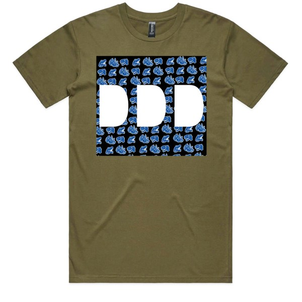 Dead Dirty Dinosaurs 010 Men Army T Shirts