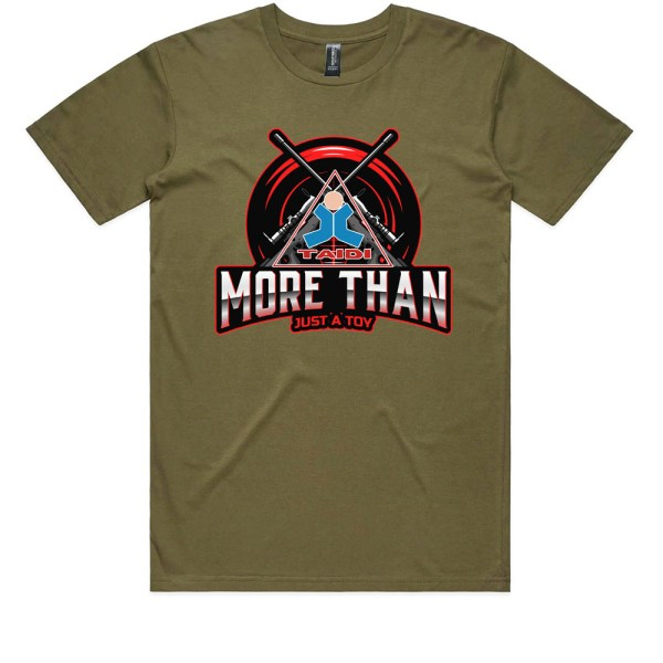 TAIDI More Than Just a Toy Crest Kids Army T Shirts
