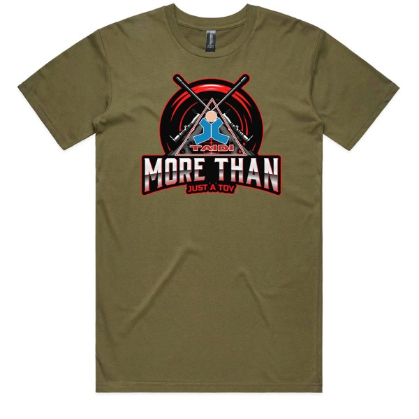 TAIDI More Than Just a Toy Crest Men Army T Shirts