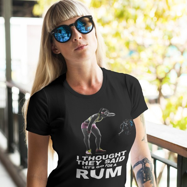 I Thought They Said RUM Ladies T Shirts