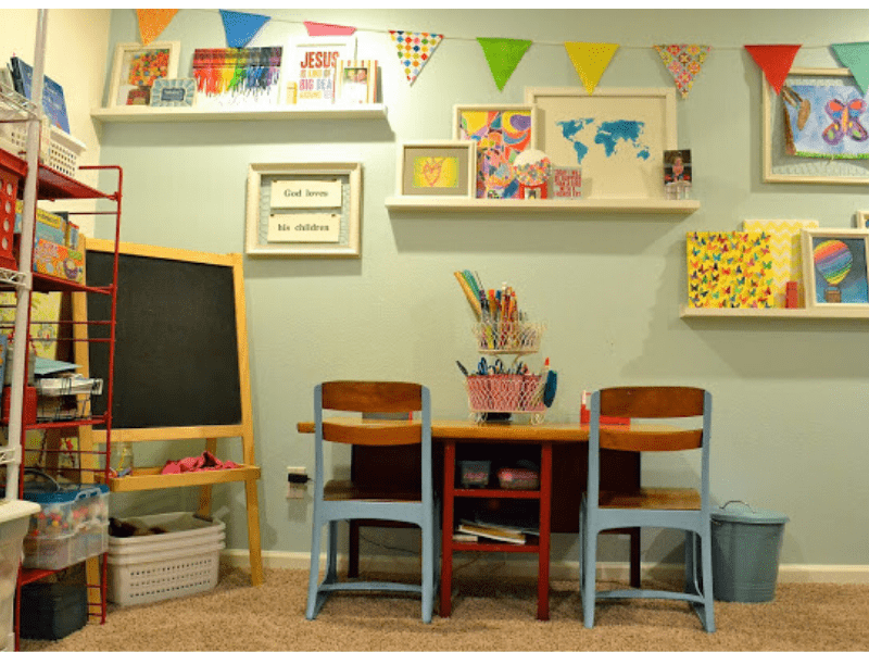 A Complete Guide How To Organise Homeschool Room