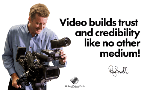 Video Builds Trust & Crediblity Like No Other Medium