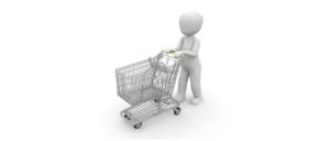 Einkaufswagen Onlineshoppiung Einkauf
