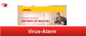 2019-03-14 DHL Virus-Mail Ihr Paket ist bald da