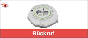 Rückruf Käse Petite Fleur