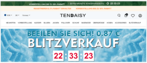 Onlineshop tendaisy