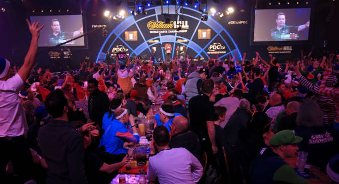 Dirk Van Duijvenbode En Danny Noppert WK Darts Tweede Ronde Odds