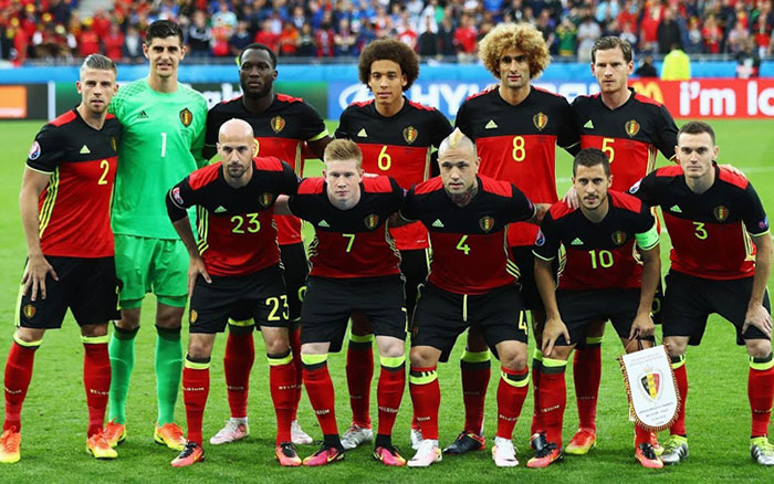 WK Deelnemers - België op het WK 2018 in Rusland