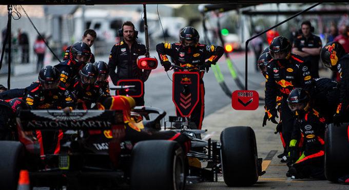 bandenwissel Formule 1