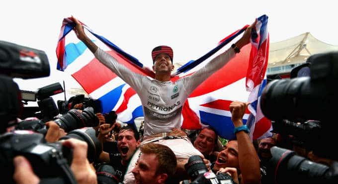 Formule 1 GP Turkije Lewis Hamilton wereldkampioenschap