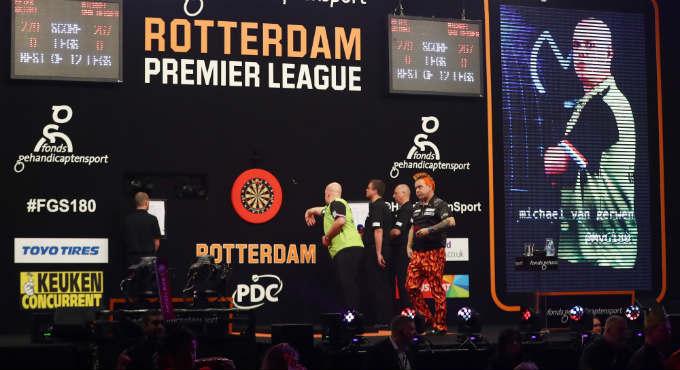 Premier League Darts speelschema | Getty