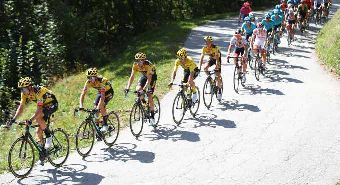 Etappes En Parcours Tour De France 2021. Tijdritten Voor Tom Dumoulin