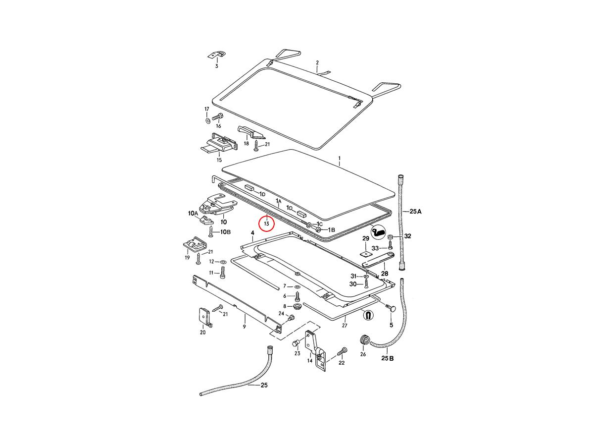 Repairing Porsche 924 Door Cable