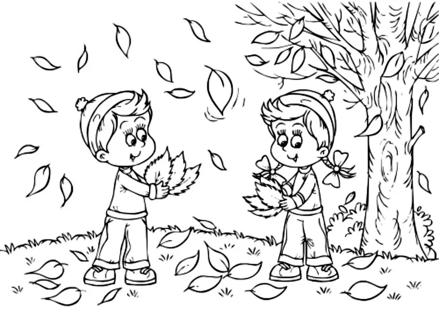 autumn coloring pages only coloring pages