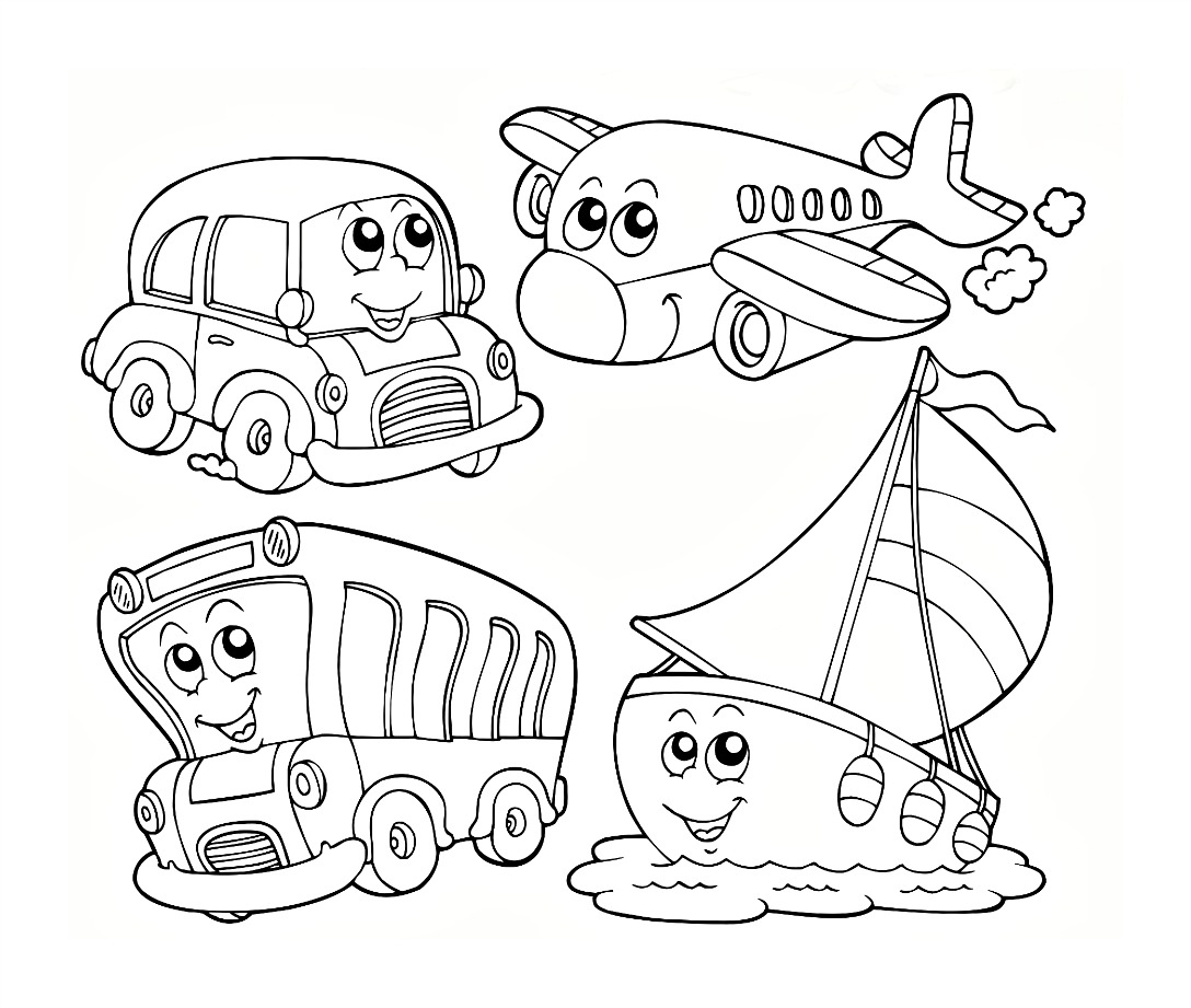 Transport Colouring Pages Pinterest Transport Colouring