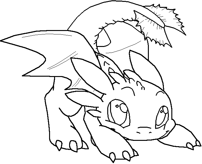 free printable toothless coloring pages  only coloring pages