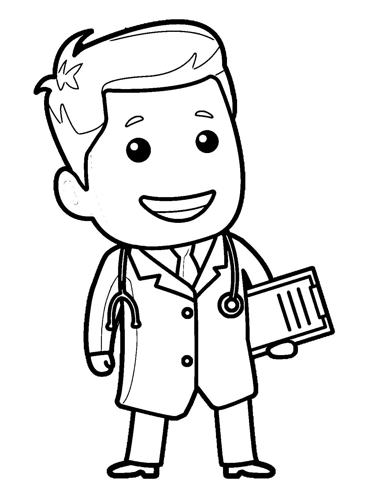 Professions Coloring Pages