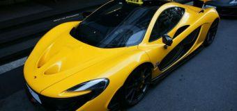 McLaren P1 σε ταξί