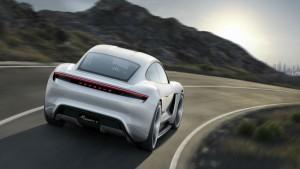 porsche sports car concept mission e 2