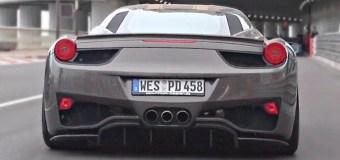 Video: Η Ferrari 458 Italia στο Monaco