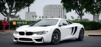O Hugo Silva ενώνει τη McLaren με τη BMW
