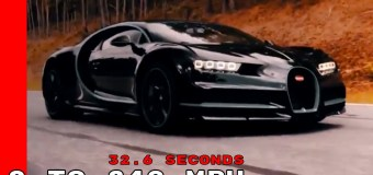 Video: 400 χλμ/ώρα για μια Bugatti Chiron είναι παιχνιδάκι