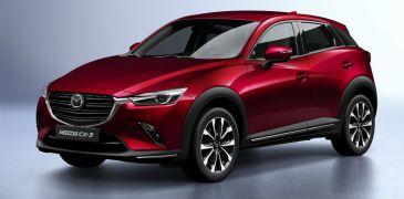 Ανανέωση για το Mazda CX – 3