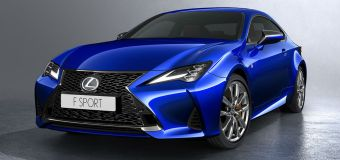 Το Lexus RC Luxury Coupe Sport στο Παρίσι