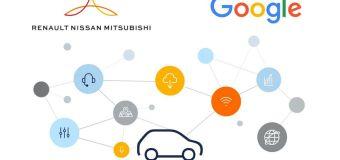 Συνεργασία της Google με Renault, Nissan και Mitsubishi